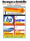 RECARGAS DE TONER BROTHER TN360,TN350 LA FLORIDA