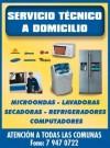 reparacion de lavadoras y refrigeradores, samsung, lg, fensa, mademsa,