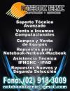 SERVICIO TECNICO COMPUTACIONAL , NOTEBOOK, MAC , NETBOOK, PC