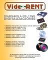 TRASPASO DE VIDEOS BETA - VIDEORENT
