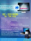 Servicio Tecnico a Domicilio Netbook Notebook Pc Outlook redes wifi