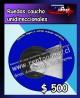 Ruedas caucho unidireccionales/solido cuerpo metalico $ 500 pesos