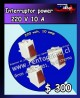 Interruptor power 220 volt 10 amp precio oferta: $ 300