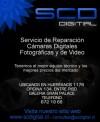 servicio tecnico de camaras digitales